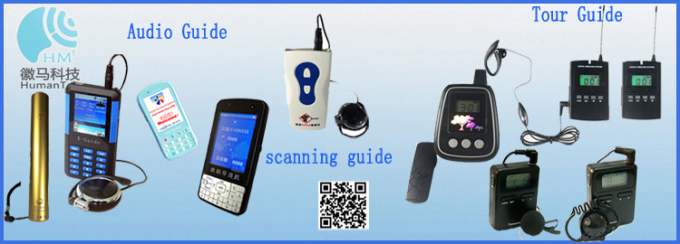 Hot Sale  Portable Wireless Transmitter And Receiver  Tour Audio Guide System For Horse Riding Instruction System